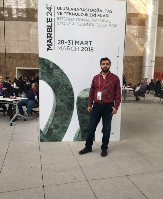 SDÜ TTO 23. Uluslararası Doğal Taş ve Teknolojileri Fuarı' na katıldı.