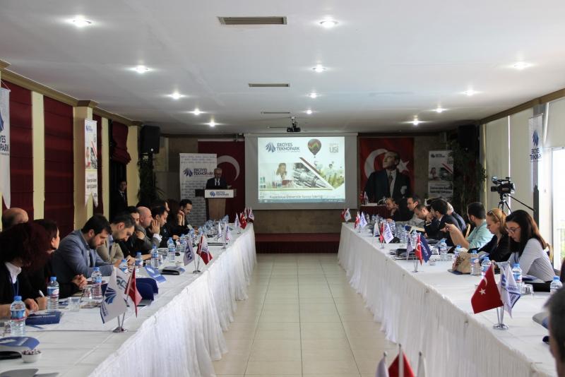 SDÜ TTO Erciyes Teknopark Tarafından düzenlenen Kapadokya Üniversite Sanayi İşbirliği Çalıştayı'na katıldı.